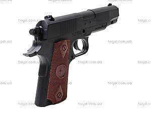 Игровой пистолет с набором пулек, CF58, фото
