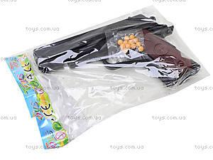 Игровой пистолет с набором пулек, CF58