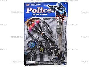 Игровой полицейский набор, 107-18