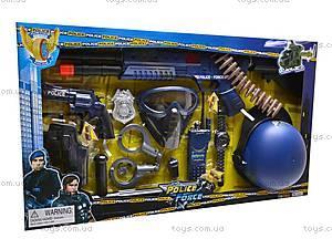 Игровой полицейский набор с кобурой, 33500
