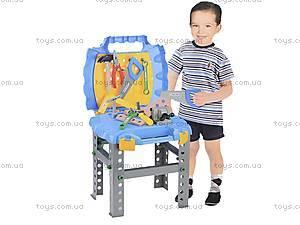 Игровой стол с набором инструментов, T227, игрушки