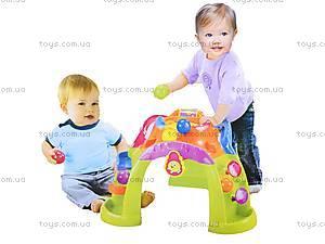 Игровой столик с шариками, 63510, игрушки