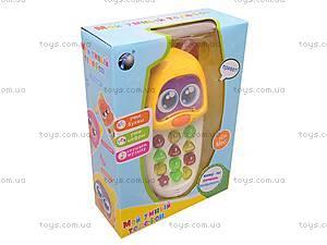 Игровой телефон для детей, 636C-EN, игрушки