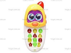 Игровой телефон для детей, 636C-EN, детские игрушки