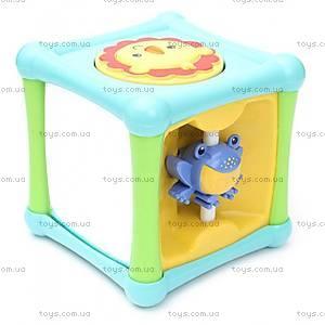 Игровой кубик со зверушками Fisher-Price, BFH80, фото