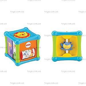 Игровой кубик со зверушками Fisher-Price, BFH80, отзывы