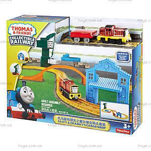Игровой набор «Солти и Кренки на причале» из серии «Томас и друзья», BHR95