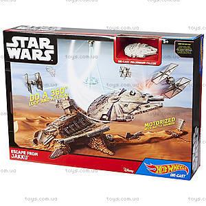 Игровой набор «Побег из Джакку» серии Star Wars Hot Wheels, CGN32