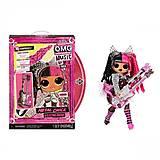"""Игровой набор с куклой L.O.L. SURPRISE! серии """"O.M.G. Remix Rock"""" Леди-МЕТАЛЛ, 577577"""