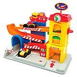 """Игровой набор """"Занимательный гараж"""" со звуками, 055707, купить"""