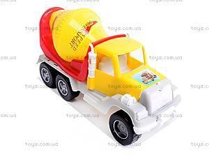 Игрушечная бетономешалка, детская , 05-521, купить