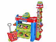 Игрушечный детский супермаркет с музыкой, 008-85, игрушки