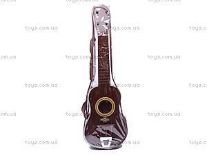 Игрушечная гитара, в чехле, ZJ260C, купить