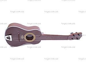 Игрушечная гитара, в чехле, ZJ260C