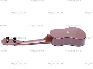 Игрушечная гитара, в чехле, ZJ260C, фото