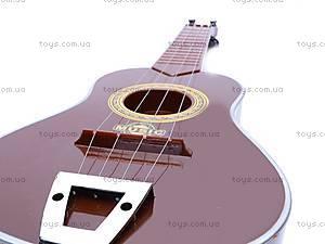 Игрушечная гитара, в чехле, ZJ260C, отзывы