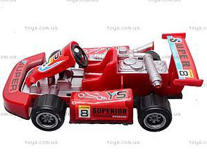 Игрушечная гоночная машинка, 6688-100, игрушки