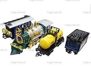 Игрушечная железная дорога, пускающая дым, 556, детские игрушки