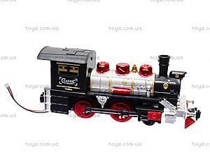 Игрушечная железная дорога с дымом, V8089, фото
