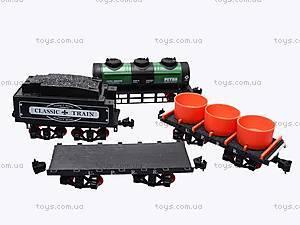 Игрушечная железная дорога с дымом, V8089, игрушки