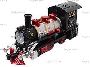 Игрушечная железная дорога с дымом, V8089, детские игрушки