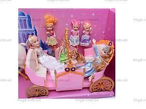 Игрушечная карета с куклами, 258036, фото