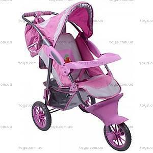 Игрушечная коляска для куклы, 3 колеса, B320-2