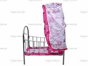 Игрушечная кровать, с балдахином, 9394, купить