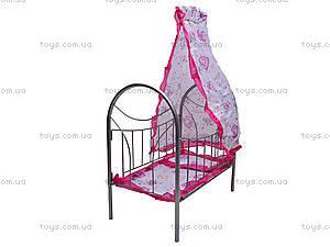 Игрушечная кровать, с балдахином, 9394, отзывы