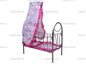Игрушечная кровать, с балдахином, 9394