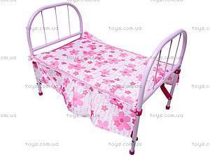 Игрушечная кроватка для кукол, 3889, фото