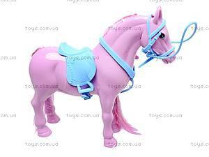 Игрушечная лошадь с аксессуарами, 686-607, фото