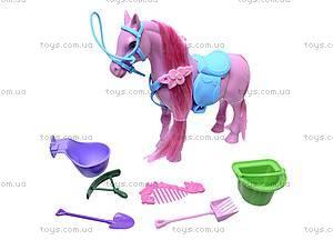 Игрушечная лошадь с аксессуарами, 686-607, цена