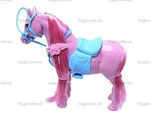Игрушечная лошадь с аксессуарами, 686-607, детские игрушки