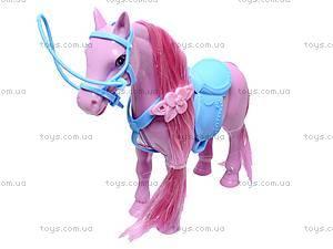 Игрушечная лошадь с аксессуарами, 686-607, магазин игрушек