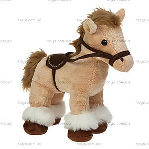 Игрушечная лошадка, бежевая, 21-920961-1, фото