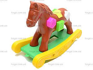 Игрушечная лошадка-качалка, 00200, фото