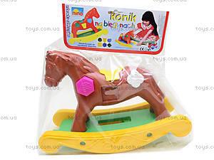 Игрушечная лошадка-качалка, 00200