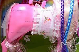 Игрушечная лошадка с куколкой, 6685, отзывы