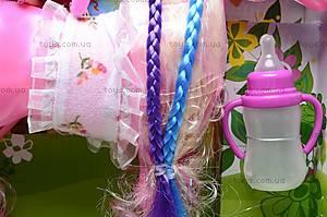 Игрушечная лошадка с куколкой, 6685, детские игрушки
