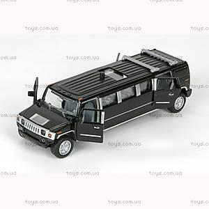 Игрушечная модель «Черный лимузин», SL-971WB