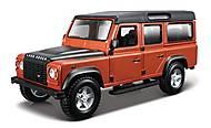 Игрушечная моделька Land Rover Defender, 18-43029
