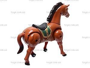 Игрушечная музыкальная лошадь, 0055B, фото