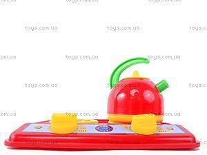 Игрушечная плита с посудой, 1585, toys.com.ua