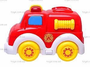 Игрушечная пожарная машина, 11017, фото