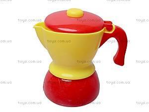 Игрушечная посуда с чайником, C0037, купить