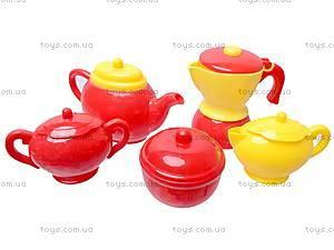 Игрушечная посуда с чайником, C0037, фото