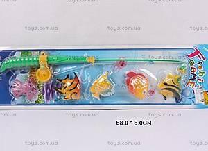 Игрушечная рыбалка, с 5-ю рыбками, BW30011-5