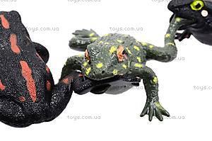 Игрушечная силиконовая лягушка, A006P, набор