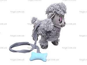 Игрушечная собачка на поводке, DY6888, фото
